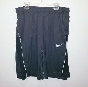 Nike Dri-FIT men's athletic shorts Grey large